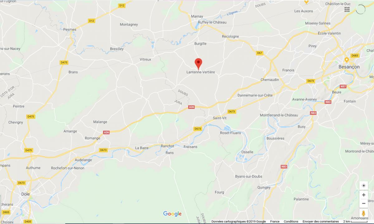 Carte (cliquez sur le lien pour être redirigé vers l'application Google Maps)